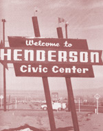 Welcome to HENDERSON Civic Center