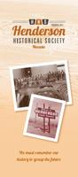 henderson historical society-member-brochure