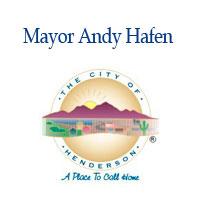 Mayor Andy Hafen