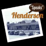 Henderson Speaks Event